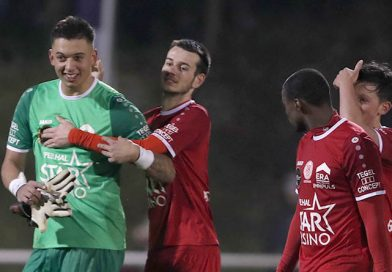 Selectie voor thuismatch tegen FC Lebbeke
