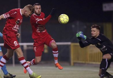 Eerste ploeg houdt drie punten thuis tegen Lebbeke