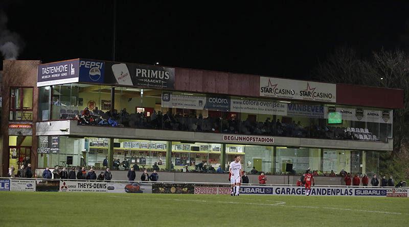 Seats Menu voor match tegen Oostnieuwkerke (2 februari)