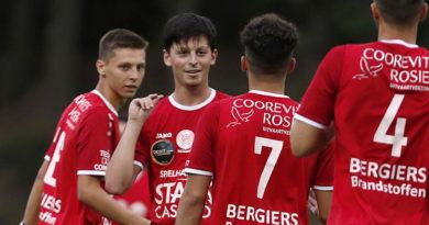 TEMPO wint oefenduel tegen beloften Anderlecht